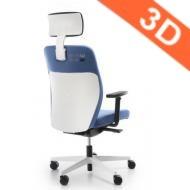 krzesło DUAL 103 White Orthopedic Line